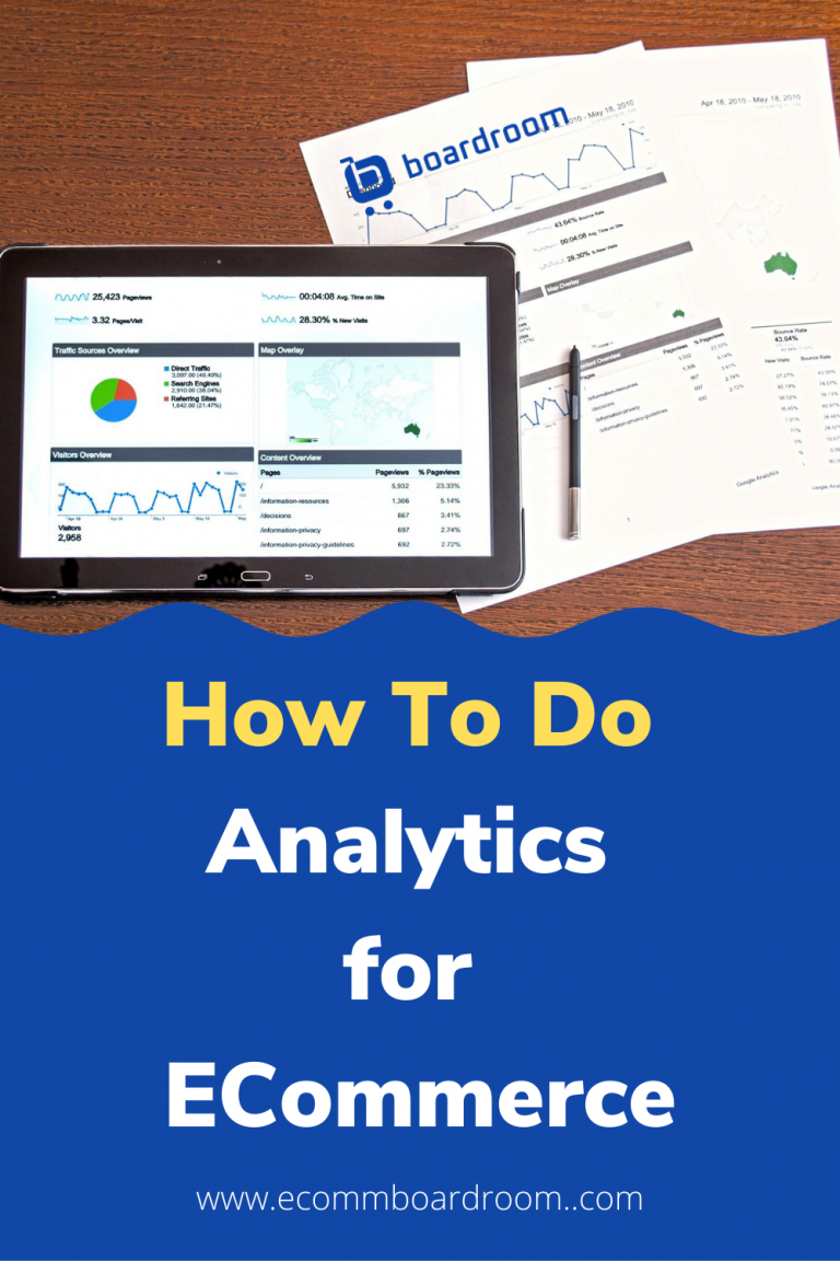 ecommerce data analytics